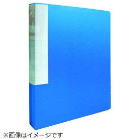 トラスコ中山 TRUSCO PP クリアファイル A4タテ 20P ブルー TCF420-B