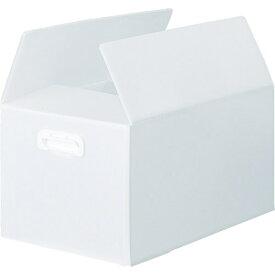 トラスコ中山 TRUSCO ダンボールプラスチックケース 5枚セット 果物箱サイズ 取っ手穴なし 半透明 TDP-KMD-5TM