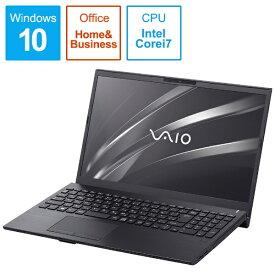 VAIO バイオ VAIO S15 ノートパソコン ブラック VJS15390111B[15.6インチ office付き 新品 VJS15390111B]