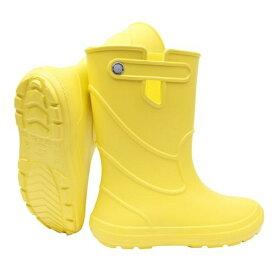 カミナーレ CAMMINARE 1192170 JU-YL3233LS 子供用レインブーツ 長靴 イエロー 32-33