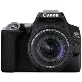 キヤノン CANON EOS Kiss X10 デジタル一眼レフカメラ EF-S18-55 IS STM レンズキット ブラック [ズームレンズ][KISSX10BK1855ISSTMLK]