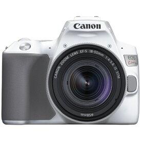キヤノン CANON EOS Kiss X10 デジタル一眼レフカメラ EF-S18-55 IS STM レンズキット ホワイト [ズームレンズ][KISSX10WH1855ISSTMLK]