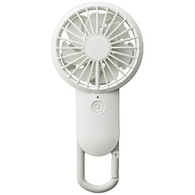 リズム時計 RHYTHM 9ZF026RH03 USB扇風機 USB充電式モバイルファン Silky Wind Mobile 白 [DCモーター搭載][ハンディファン 携帯 扇風機]