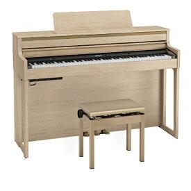 ローランド Roland 電子ピアノ HP704-LAS ライトオーク [88鍵盤]
