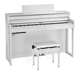 ローランド Roland 電子ピアノ HP704-WHS ホワイト [88鍵盤][HP704]