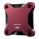 I-O DATA アイ・オー・データ SSPH-UT480R 外付けSSD レッド [ポータブル型 /480GB][SSPHUT480R]