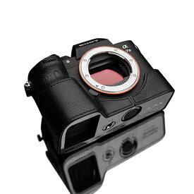 GARIZ ゲリズ SONY α9/α7R III/α7 III 兼用 本革カメラケース XS-CHA7M3BKO ブラック XS-CHA7M3BKO ブラック