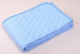西川 NISHIKAWA 【涼感パッド】西川 アイスプラス クール敷きパッド シングルサイズ(100×205cm/ブルー) IE9002
