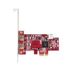 玄人志向 玄人志向 拡張IF PCI Express x1接続 IEEE1394a x2 増設ボード IEEE1394-PCIE2