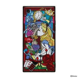HAMEE ハミィ iPhone SE(第2世代)4.7インチ/ iPhone 8/7専用 ディズニーキャラクター TILEケース 151-905067 アリス/グリッター