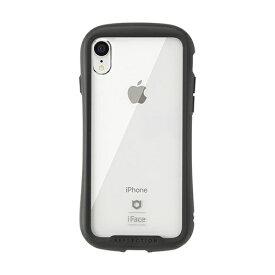 HAMEE ハミィ [iPhone XR専用]iFace Reflection強化ガラスクリアケース 41-907207 ブラック