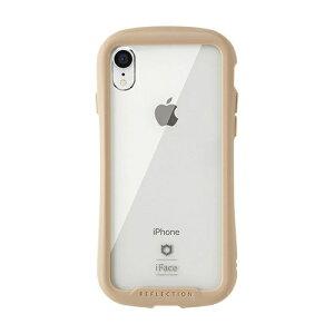 HAMEE ハミィ [iPhone XR専用]iFace Reflection強化ガラスクリアケース 41-907245 ベージュ