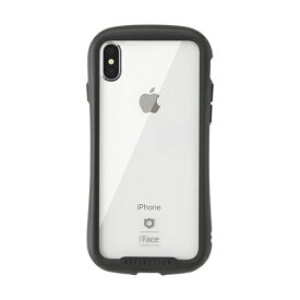 HAMEE ハミィ [iPhone XS Max専用]iFace Reflection強化ガラスクリアケース 41-907252 ブラック