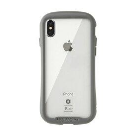HAMEE ハミィ [iPhone XS Max専用]iFace Reflection強化ガラスクリアケース 41-907269 グレー