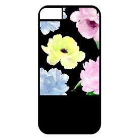 サムライワークス SAMURAI WORKS 2WAY CASE for iPhone8/7/6 colorful flower-BLK