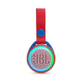 JBL ジェイビーエル BLUETOOTHスピーカー JBLJRPOPRED レッド [Bluetooth対応 /防滴][JBLJRPOPRED]