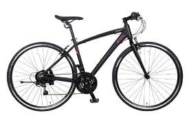 マセラティ 700×28C クロスバイク MASERATI AL-CRB7021 urban(マセラティ ブラック/21段変速) 68107-01【組立商品につき返品不可】 【代金引換配送不可】