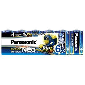 パナソニック Panasonic LR20NJ/6SW 単1電池 EVOLTANEO(エボルタネオ) [6本 /アルカリ]