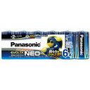 パナソニック Panasonic LR14NJ/6SW 単2電池 EVOLTANEO(エボルタネオ) [6本 /アルカリ]