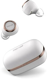 マクセル Maxell フルワイヤレスイヤホン ホワイトxカッパー MXH-BTW1000WC [ワイヤレス(左右分離) /Bluetooth][MXHBTW1000WC]