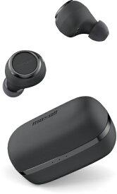 マクセル Maxell フルワイヤレスイヤホン マクセル ブラックxブラック MXH-BTW1000BB [リモコン・マイク対応 /ワイヤレス(左右分離) /Bluetooth][MXHBTW1000BB]