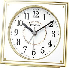 リズム時計 RHYTHM 目覚まし時計 【フィットウェーブA437】 4RL437SR18 [アナログ /電波自動受信機能有]