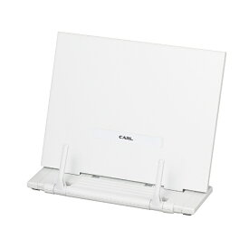 カール事務器 CARL ブックスタンダー ホワイト BKS-820-W[BKS820W]