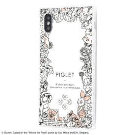 イングレム Ingrem iPhone XS / X /『ディズニーキャラクター』/耐衝撃ガラスケース KAKU IQ-DP20K1C/PO005 『くまのプーさん/ボタニカル』_02