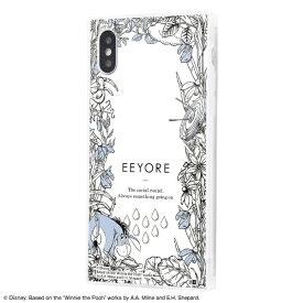 イングレム Ingrem iPhone XS / X /『ディズニーキャラクター』/耐衝撃ガラスケース KAKU IQ-DP20K1C/PO007 『くまのプーさん/ボタニカル』_04