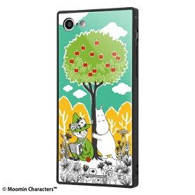 イングレム Ingrem iPhone SE(第2世代)4.7インチ/ iPhone 8 / 7 /ムーミン/耐衝撃ケース KAKU トリプルハイブリッド IQ-AP7K3B/MT003 コミック_3