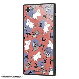 イングレム Ingrem iPhone SE(第2世代)4.7インチ/ iPhone 8 / 7 /ムーミン/耐衝撃ケース KAKU トリプルハイブリッド IQ-AP7K3B/MT004 パターン_1
