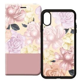 サムライワークス SAMURAI WORKS 2WAY CASE for iPhoneXS/X FLOWER PINK
