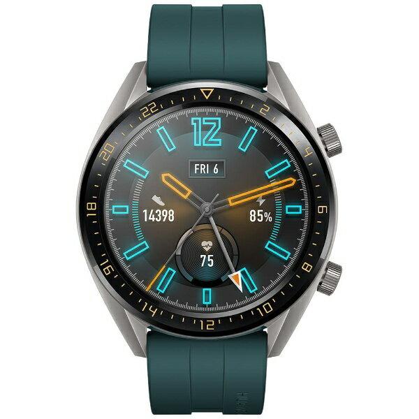 HUAWEI ファーウェイ Watch GT 46mm/Dark Green/55023713[WATCHGT46MMGR]