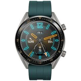HUAWEI ファーウェイ WATCHGT46MMGR スマートウォッチ Watch GT 46mm ダークグリーン[WATCHGT46MMGR]