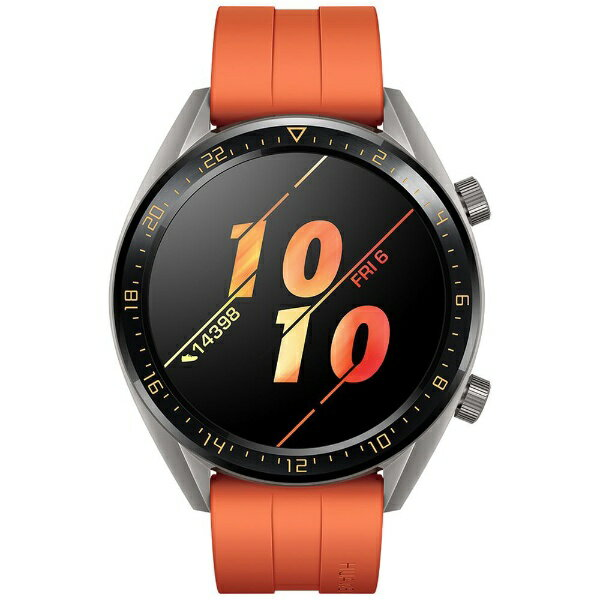 HUAWEI ファーウェイ Watch GT 46mm/Orange/55023714[WATCHGT46MMOR]
