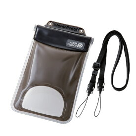 エレコム ELECOM スマートフォン用防水・防塵ケース 水没防止タイプ XLサイズ ブラック PCWPSF03BK