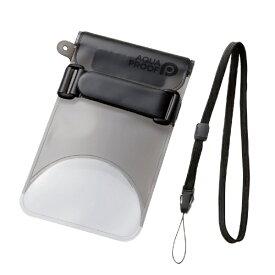 エレコム ELECOM スマートフォン用防水・防塵ケース セルフィー特化 Lサイズ ブラック PCWPSS02BK