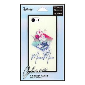 PGA iPhone 8/7/6s/6用 ガラスハイブリッドケース PG-DCS732MNE ミニーマウス