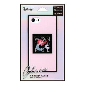 PGA iPhone 8/7/6s/6用 ガラスハイブリッドケース PG-DCS734ARL アリエル