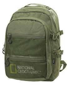 NATIONAL GEOGRAPHIC ナショナルジオグラフィック ロゴデイパック NAG-11113KH カーキ