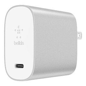 BELKIN BOOST↑CHARGE スマホ用USB充電コンセントアダプタ(27W USB-C) F7U060DQ-SLV