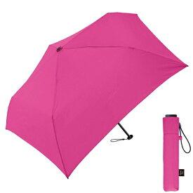 クラックス 【折りたたみ傘】超軽量折りたたみ傘(ピンク)