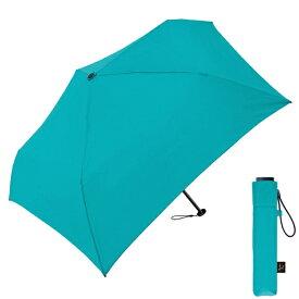 クラックス 【折りたたみ傘】超軽量折りたたみ傘(エメラルドグリーン) 50cm エメラルドグリーン