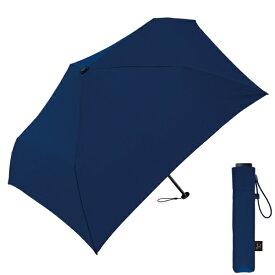 クラックス 【折りたたみ傘】超軽量折りたたみ傘(ネイビー) 50cm ネイビー