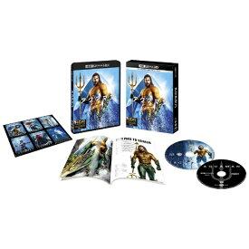 ワーナー ブラザース 【初回仕様】アクアマン <4K ULTRA HD&ブルーレイセット>(2枚組/ブックレット&キャラクターステッカー付)【Ultra HD ブルーレイソフト】