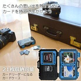サンコー THANKO カードリーダーになる21枚収納カードケース