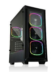ENERMAX エナーマックス アドレッサブルRGB対応 ATXPCケース StarryFort SF30 ECA-SF30-M1BB-ARGB ECA-SF30-M1BB-ARGB