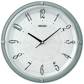 セイコー SEIKO 掛け時計 【スタンダード】 薄青 KX257L [電波自動受信機能有]