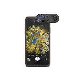 olloclip オロクリップ olloclip iPhone XR Fisheye + Macro Essential and Super-Wide Essential OC-0000297-EU