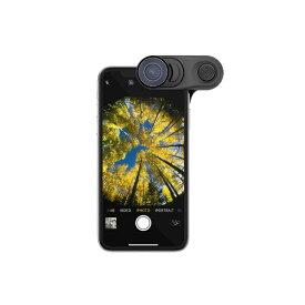 olloclip オロクリップ olloclip iPhone XS Fisheye + Macro Essential and Super-Wide Essential OC-0000314-EU
